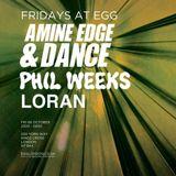2017.10.06 - Amine Edge & DANCE @ Egg, London, UK