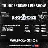 PandA Live @ Back2Noize Radio - Thunderdome Show, 25 Years of Hardcore (19.10.2017)