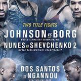 411 Ground and Pound Radio Show: UFC 215 Review