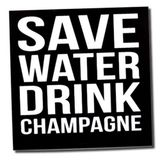 Save  Water drink Champagne (Vanille Lounge Live Mix)