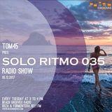 TOM45 pres. SOLO RITMO Radio Show 035 / Beach Grooves Radio