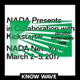 NADA Presents : Jacolby Satterwhite Talk - March 4th 2017