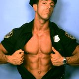 Handsome Cop With Big Rifle