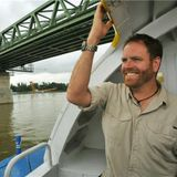 Josh Gates of  Travel Channel's Expedition Unknown: Hunt for Extraterrestrials