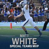 Player Spotlight: Matt White, Punter/Kicker, Monmouth University