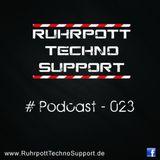 Ruhrpott Techno Support - PODCAST 023 - DinaDarkshine