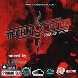 Techn'o'логия podcast # 25 with Dj Tony Montana [MGPS 89,5 FM] 16.09.2017