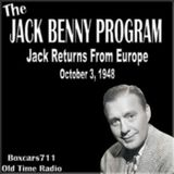 The Jack Benny Program - Jack Returns From Europe (10-03-48)