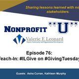 Teach-In: #ILGive on #GivingTuesday