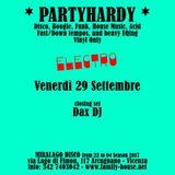 """PARTYHARDY """"Electro"""" - DAX DJ"""