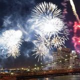 Live in Brooklyn - July 4th 2017 - Fireworks on the Rooftop