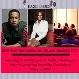 BGN #110 The Cookup, Sex 101, and ClexaCon 2017