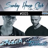 SUNDAY HOUSE CLUB @ Radio Canale Italia #005 | ZAGGIA + GUIDO DURANTE | free download