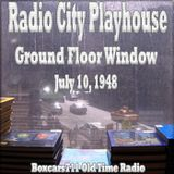 Radio City Playhouse (NBC) - Ground Floor Window (07-10-48)