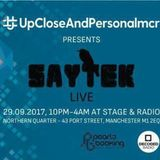 Ian Dillon Upcloseandpersonalmcr With Saytek Live at Stage & Radio Manchester