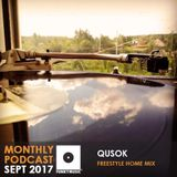Funkymusic Monthly Podcast, Sept 2017 - Dj Qusok - Freestyle Home Mix