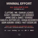 2017.10.28 - Amine Edge & DANCE @ Minimal Effort, Los Angeles, US