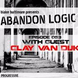 Guest mix for ABANDON LOGIC by Blake Baltimore with Clay van Dijk @ Digitally Imported