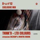 Elita DWF12 Exclusive Mix 01 - Think'd + Ltd Colours (Gioconda Radio)