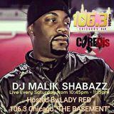 """CORE DJ MALIK SHABAZZ Live on 106.3 """"The Basement"""" (May 6th, 2017)"""
