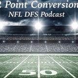 2 Point Conversion NFL DFS POD - Week 10