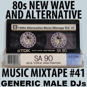 Generic Male DJs 80s New Wave and Alternative Music