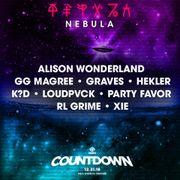Party Favor @ Nebula Insomniac Countdown NYE, NOS Events Center San