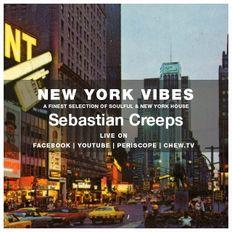 Sebastian Creeps aka Gil G - 044 New York Vibes (Facebook Live 16-05-19)