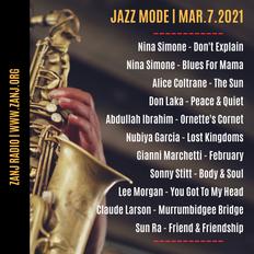 Jazz Mode | Exclusively Jazz | Mar.7.2021