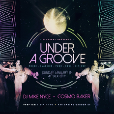 Cosmo Baker & Mike Nyce - Live at Under A Groove Part 3