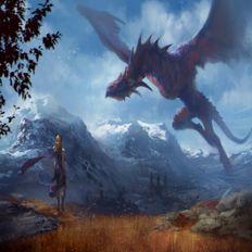 THE WIZARD DK - Dragon Attack 00 (Dreams Dreamer Still Dreaming)