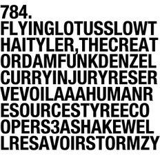 784. NEW FLYING LOTUS | TYLER, THE CREATOR | HUMAN RESOURCES | DAM-FUNK | RESAVOIR | INJURY RESERVE