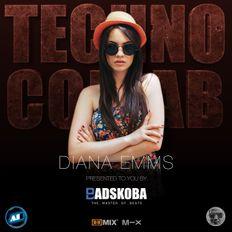 Badskoba & Diana Emms in technocollab show