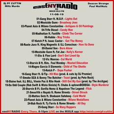 EastNYRadio 11-8-19 All New HipHop Mix