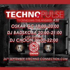 TECHNO PULSE #30 DJ BADSKOBA