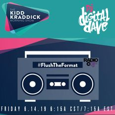 Digital Dave Live On The Kidd Kraddick Morning Show 6.14.19