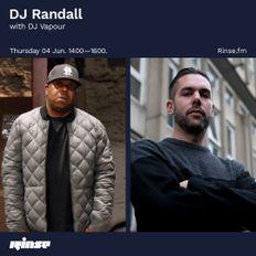Randall Isolation Session #3 Guest Mix DjVapour (36Hertz) RinseFm 04/06/20