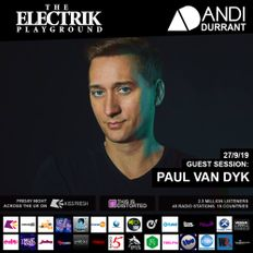 Electrik Playground 27/9/19 inc. Paul van Dyk Guest Mix