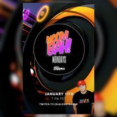 Moombah Mondays! Live With Alex Dynamix