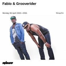 Fabio & Grooverider on Rinse FM 06 April 2020