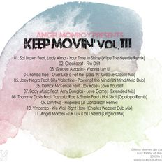 Angel Monroy Presents Keep Movin' 111