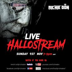 LIVE HalloStream 01.11.10 - DJ Richie Don