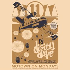 DJ Digital Dave Live From Motown On Mondays - 6.15.20