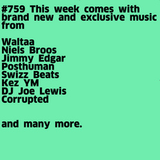 #759 New Niels Broos | Swizz Beats | DJ Joe Lewis | Waltaa | Jimmy Edgar | ...
