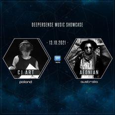 Deepersense Music Showcase 070 CJ Art & Aeonian (October 2021) on DI.FM