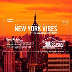 Sebastian Creeps aka Gil G - New York Vibes Radio Show on MyHouseRadio.fm NYC EP012