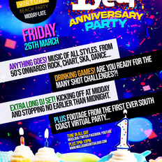 ONE YEAR ANNIVERSARY of South Coast Virtual Party (Part 1)