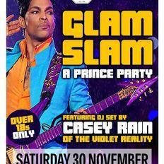 Glam Slam Prince Party at The Georgian Theatre, Stockton, Nov 30