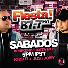 DJ Kidd B Live from Fiesta 87.7 FM ((Throwback Mix))