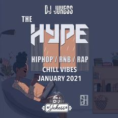 #TheHype21 - January Chill Vibes Hip-Hop and R&B Mix - @DJ_Jukess